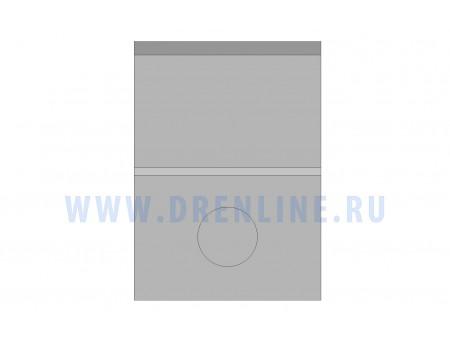 Пескоуловитель бетонный DRENLINE Super DN200 h700 с решеткой чугунной ВЧ (комплект) кл. Е600