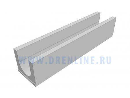 Лоток водоотводный бетонный DRENLINE Standart DN150 h190