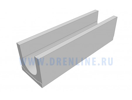 Лоток водоотводный бетонный DRENLINE Standart DN200 h250