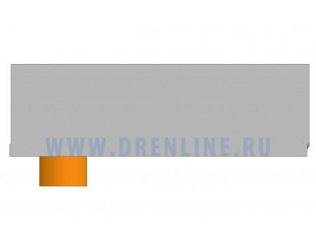 Лоток водоотводный бетонный DRENLINE Standart DN200 h280 с вертикальным водосливом