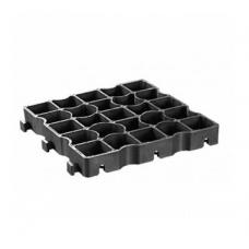 Газонная решетка Eco Super E50 - пластиковая черная