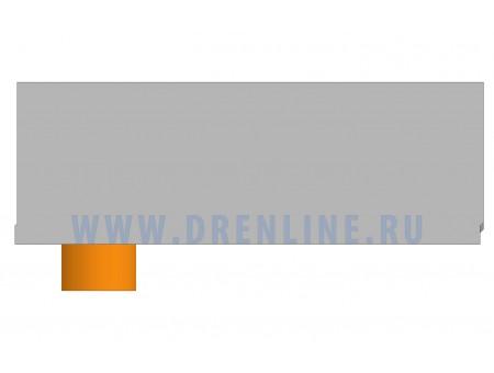 Лоток водоотводный бетонный DRENLINE Standart DN200 h300 с вертикальным водосливом
