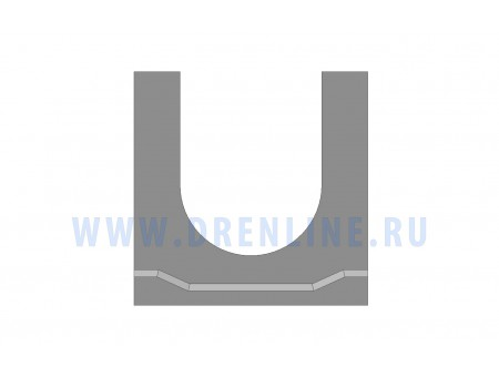 Лоток водоотводный бетонный DRENLINE Standart DN100 h145