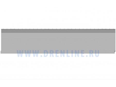 Лоток водоотводный бетонный DRENLINE Super DN100 h210 с решеткой чугунной ВЧ (комплект) кл. Е600