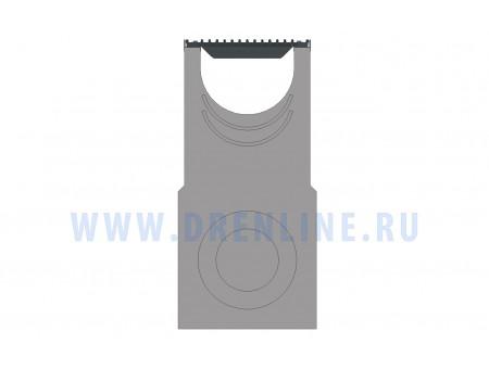 Пескоуловитель бетонный DRENLINE Super DN400 h980 с решеткой чугунной ВЧ (комплект) кл. Е600