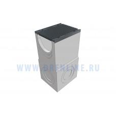 Пескоуловитель бетонный DRENLINE Super DN300 h990 с решеткой чугунной ВЧ (комплект) кл. Е600